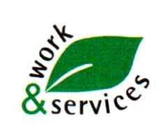 logo work&service